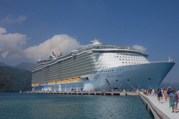 Allure of the Seas in Labadee